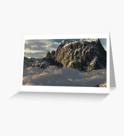 There Are No Mountains In Singapore Greeting Card