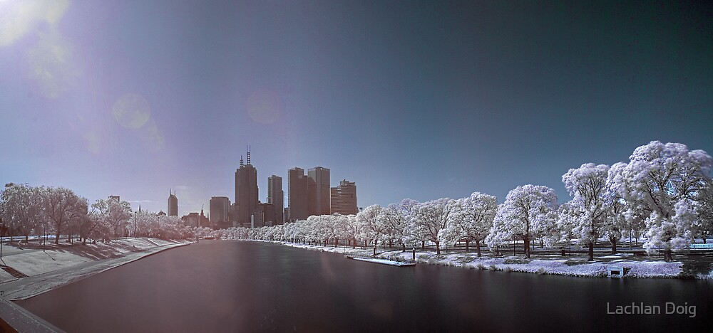 Melbourne's Nuclear Winter by Lachlan Doig