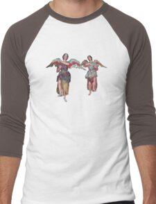 Two Angels of San Xavier Men's Baseball ¾ T-Shirt