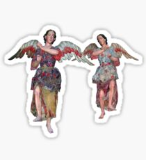 Two Angels of San Xavier Sticker