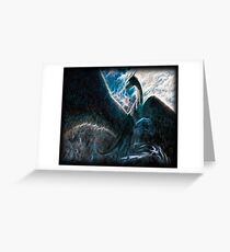 Saphira The Dragon From The Hit Eragon Movie Greeting Card