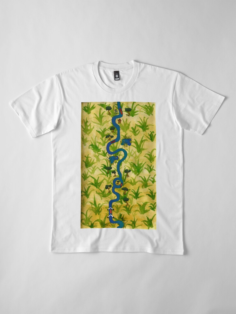 Alternate view of Canal Journey Premium T-Shirt
