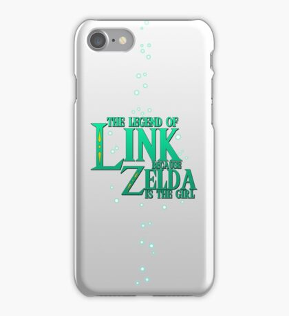 The Legend Of Link iPhone Case/Skin
