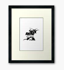 Final Fantasy VI Minimal Framed Print