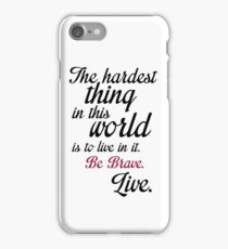 Buffy Typography iPhone Case/Skin