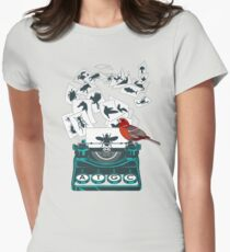 Alphabet of Life Womens Fitted T-Shirt