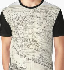 Antique Map - Coronelli's Gulf of Venice (1690) Graphic T-Shirt