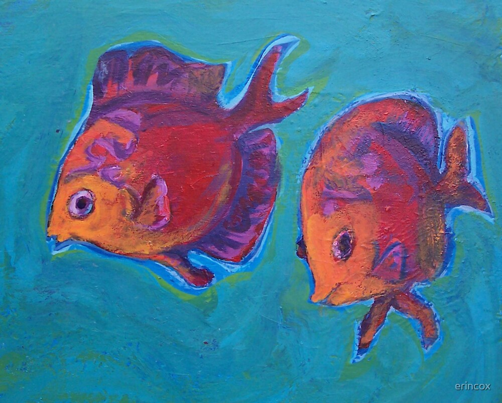 Two fish by erincox