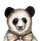 Sad Panda by Jenny Wood