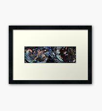 FFXV Big Bang Framed Print