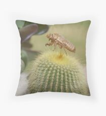 sometimes nature can be cruel Throw Pillow