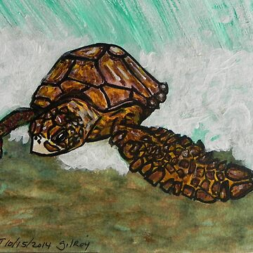 Sea Turtle Art ... t17 by whiteygilroy