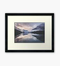 Mornings like this Framed Print