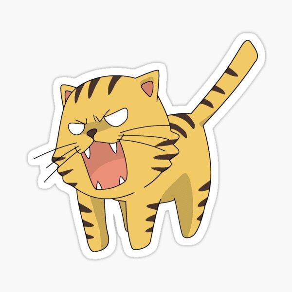 El tigre de palma TORADORA! Pegatina