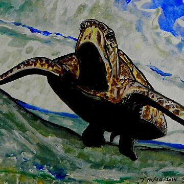 Sea Turtle Art ... t39 by whiteygilroy