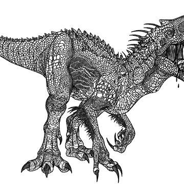 Indominus Rex by Kanamey