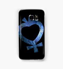 Sailor Mercury grunge universe symbol Samsung Galaxy Case/Skin