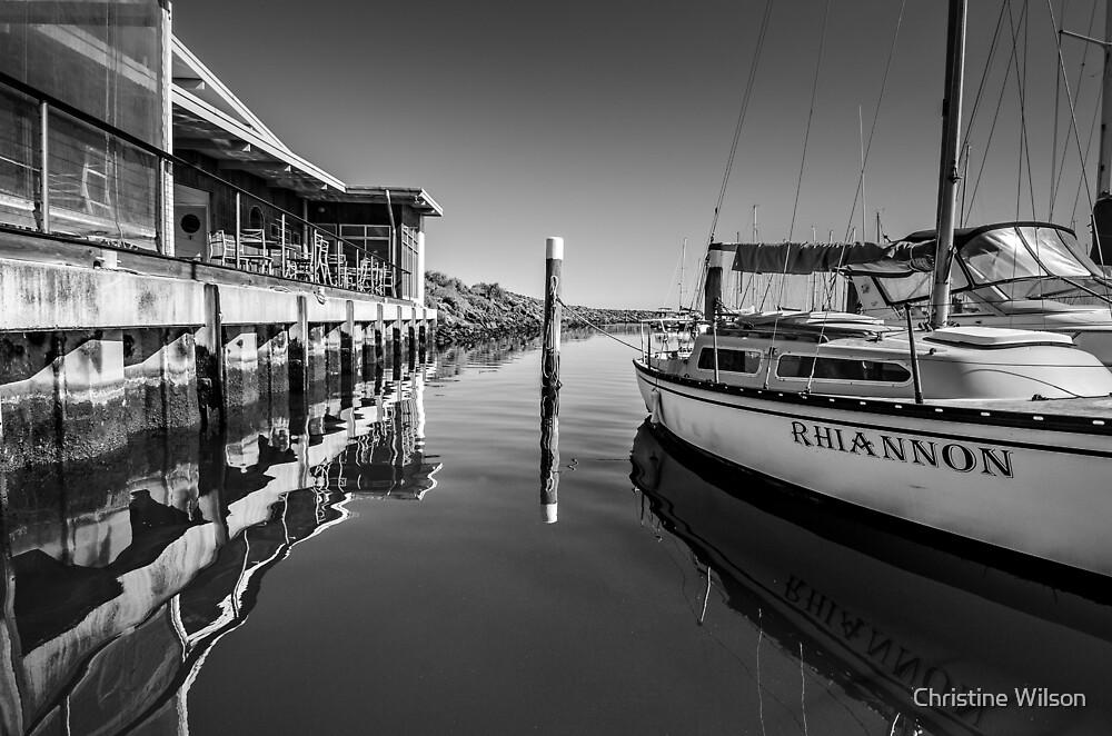 Sandringham Yacht Club   by Christine Wilson