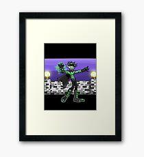 goblin king Framed Print