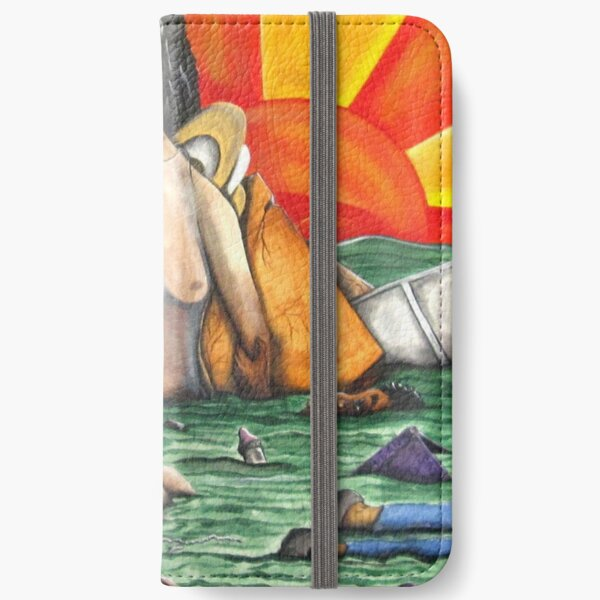 when the levees broke......one nation was divided...... iPhone Wallet
