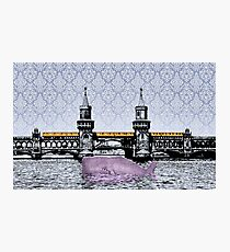 Oberbaum Wale Photographic Print