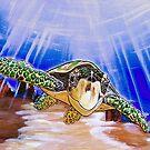 Sea Turtle Art ... t53 by whiteygilroy