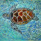 Sea Turtle Art ... t54 by whiteygilroy