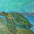 Sea Turtle Art ... t56 by whiteygilroy