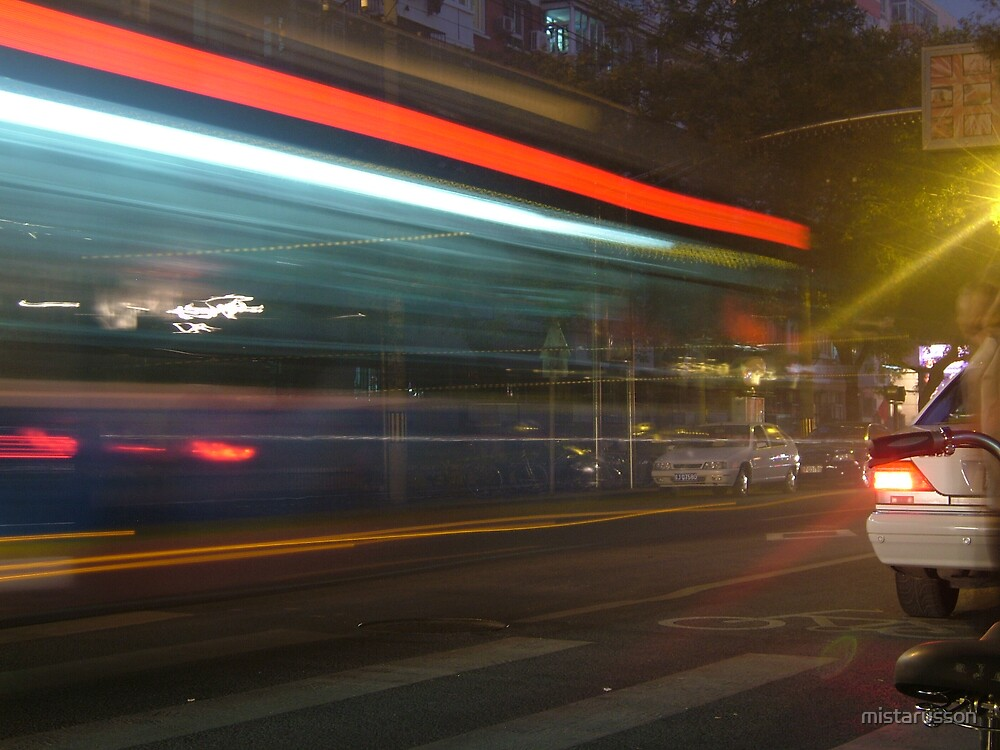 Bus - Beijing by mistarusson