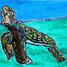 Sea Turtle Art ... t58 by whiteygilroy