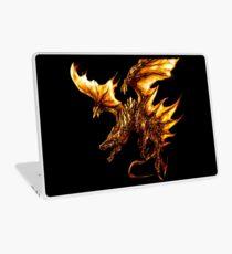 Fiery Molten Burning Dragon Design Laptop Skin
