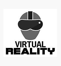 Virtual Reality (VR) Photographic Print