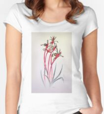 Mangles Kangaroo Paw Women's Fitted Scoop T-Shirt