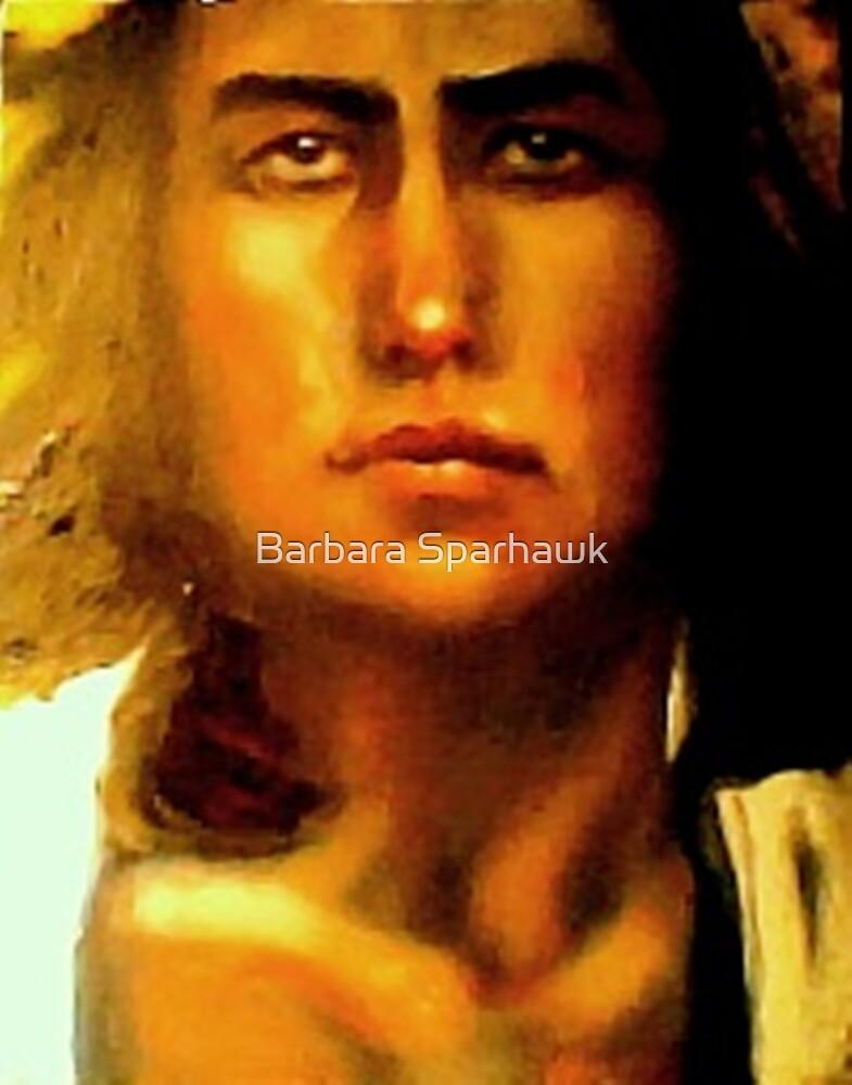 Portrait of Georgia O'Keeffe (1887 - 1986) by Barbara Sparhawk