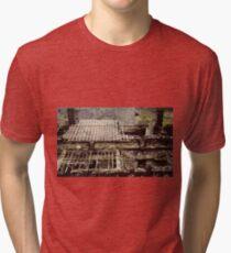 Ruined slate building Tri-blend T-Shirt