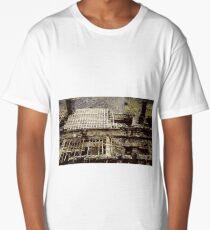Ruined slate building Long T-Shirt
