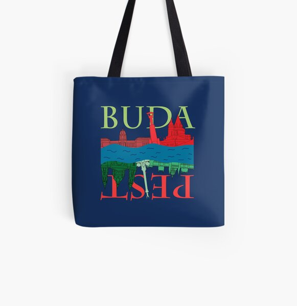 Budapest All Over Print Tote Bag