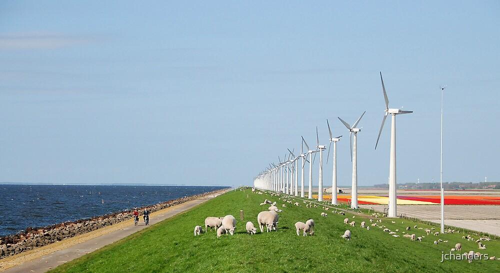 Dutch mills today by jchanders