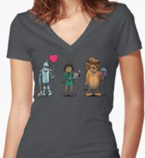 Oz wishes Women's Fitted V-Neck T-Shirt