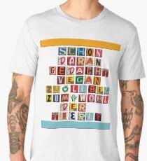 VEGAN FÜR TIERE Männer Premium T-Shirts