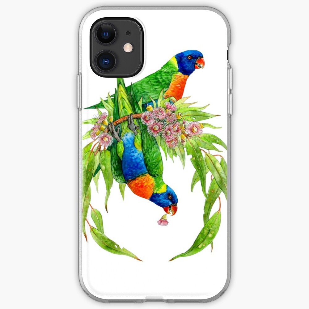 Rainbow Lorikeets iPhone Case & Cover