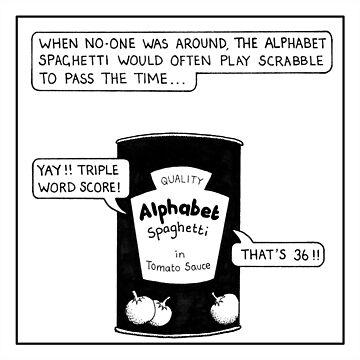 Alphabet Spaghetti by stevet3214