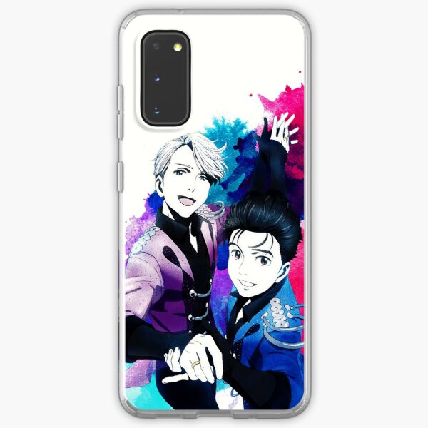 Victuuri Pair Skate Samsung Galaxy Soft Case