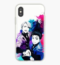 Victuuri Pair Skate iPhone Case