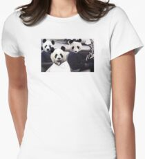 PANDAS IN THE HOOD T-Shirt