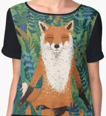Fox Yoga Chiffon Top