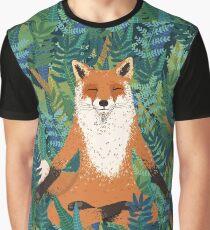 Fox Yoga Graphic T-Shirt