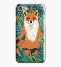 Fox Yoga iPhone Case/Skin