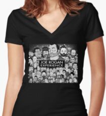 The Joe Rogan Experience Women's Fitted V-Neck T-Shirt