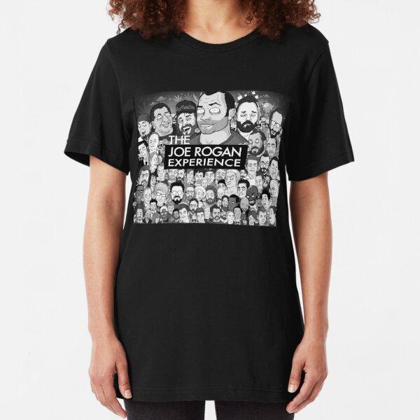 The Joe Rogan Experience Slim Fit T-Shirt
